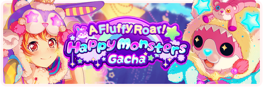 A Fluffy Roar! Happy Monsters Gacha