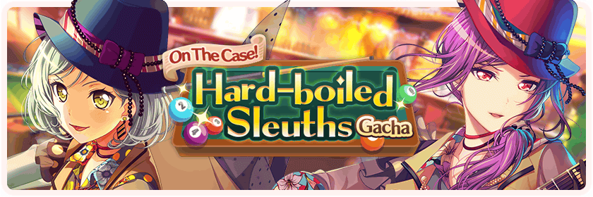 On The Case! Hard-Boiled Sleuths Gacha