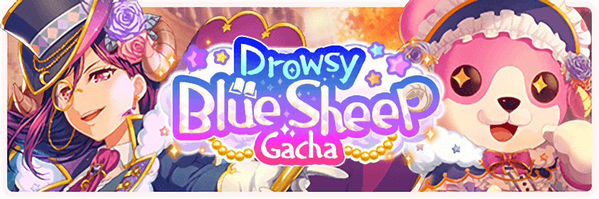 Sleeping Blue Sheep Gacha