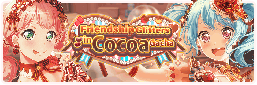 The Sparkle of Friendship is Chocolate-Colored Gacha