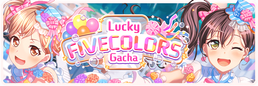 Lucky FIVECOLORS