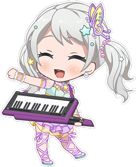 ★★★ Eve Wakamiya - Happy - Trendy Hairstyle - Chibi