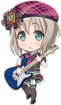 ★★★★ Moca Aoba - Cool - The Feelings I'll Accept - Chibi
