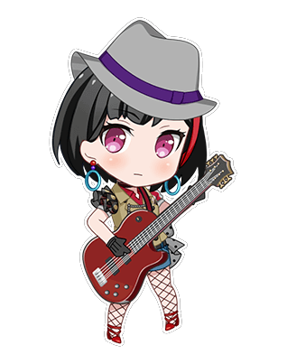 Ran Mitake - Ran's Eye Contact - Chibi