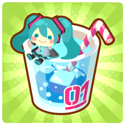Hatsune Miku Collaboration Drink