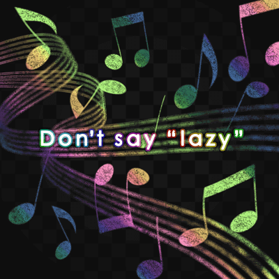 "Don't say ""lazy"""